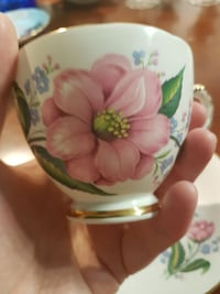 Delphine Bone China Teacup/Saucer Coquitlam, V3E 3B5
