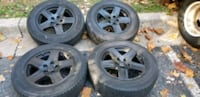 4 17 in 5x114.3 wheels rims and tires Catonsville, 21228