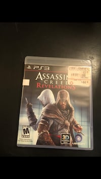 Assassin's Creed Revelations PS3 game case Henderson, 89015