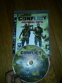 Sony PS3 Conflict Denied Ops case and disc Philadelphia, 19131