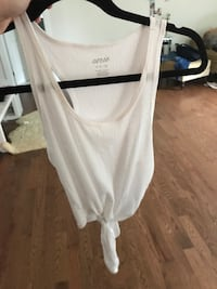 white scoop-neck sleeveless top Bedford, B4A 2H5