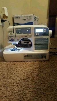 Project runway sewing/embroidery machine