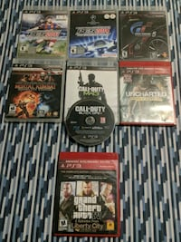 PS3 games (assorted)