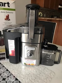 gray and black Breville juice extractor Vaughan, L4H 0K1