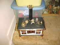 Neat Stove Child Or Put In Your China Cabinet