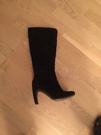 Kvinners  black heeled boot