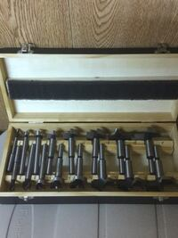 brown and black wooden tool set Calgary, T2A 6E3