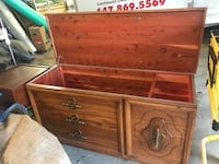 brown wooden 3-drawer dresser Toronto, M1J 2C8