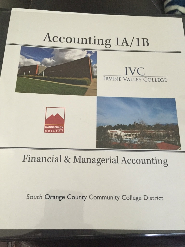 Used, accounting 1a/1b for sale  Aliso Viejo