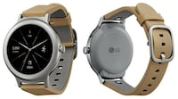 LG - Watch Style Smartwatch 42.3mm Stainless Steel