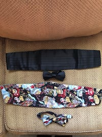 Cummerbund and Bow Tie Set Las Vegas, 89144