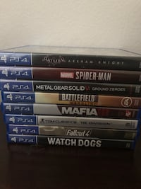 PS4 Video Games  Irvine, 92602