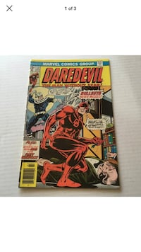 Daredevil 131 Comic First Bullseye Marvel comics Pasadena, 91101