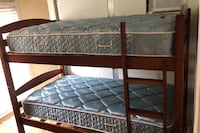 Twin bed set with mattress