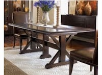 Thomasville dining table and chairs  , 91307