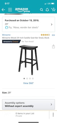 Black wooden stools Raeford, 28376