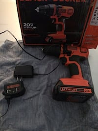 20 volt lithium ion drill, new Petersburg, 37144