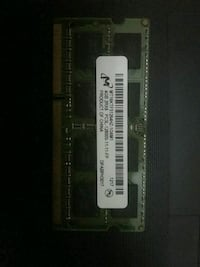 4gb DDR3 1600 MHz notebook ram Çeliktepe, 34413