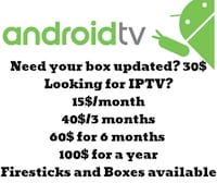 Iptv and android boxes  Brampton