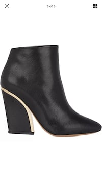 CHLOE booties black leather 38 7.5 Authentic  Los Angeles, 91604