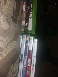 fully operational Xbox 360 games tested and approved by CiEDM. $5/per. Washington, 20032