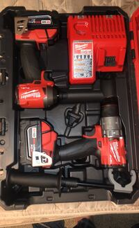Milwaukee Fuel Impact and drill. Never used.