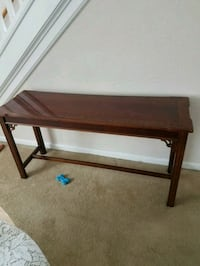 rectangular brown wooden coffee table Redford Charter Township, 48240