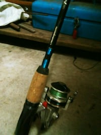 Fishing pole diawa real on Shakespeare pole St. Catharines, L2T