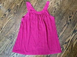 Women's pink sleeveless top-$4