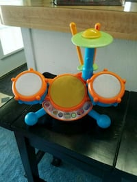 VTech kids toy drum set 2 to 5 years of age Colton, 92324
