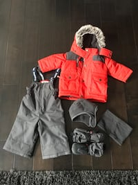 toddler's red and black zip-up jacket Calgary, T3H