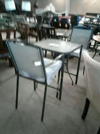 Glass Outdoor Table W/ 2 Chairs Phoenix, 85018