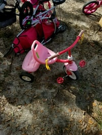 toddler's red and white trike Fort Walton Beach
