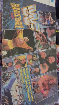 WWF WRESTLING GAME Clinton, 52732
