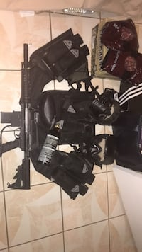 M16 paintball gun with items Moreno Valley, 92553