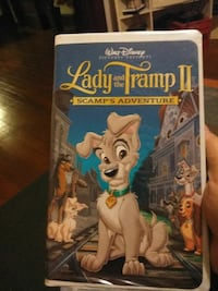 Lady And The Tramp II movie case