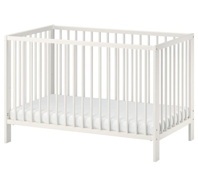 Crib with Mattress (IKEA-Gulliver) 6ad6dc52-c0ee-4658-b214-bb60dd0aac75