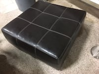 Large leather ottoman  South Daytona, 32119