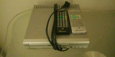 DVD player MP3 player and more with two remotes
