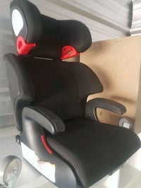 black and red leather car seat Toronto, M1E 4Y6