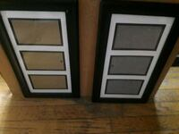 two black wooden photo frames Albany, 12210