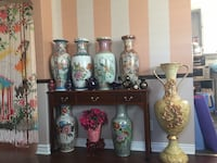 Vintage floor vases for sale.