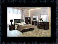 11pc B120 bedroom set with mattress Laurel