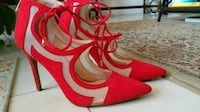 Jessica Simpson Designer Red, Closed Toe Pumps Fort Myers, 33966