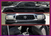 black Toyota Tacoma collage LAYTON