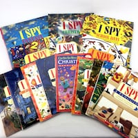 15 I Spy Books Picture Riddle Puzzle Series For Kids Ages 5-10 Level 1 Set Port Colborne