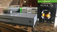 XBOX ONE S 500 GB, 4 games Mission