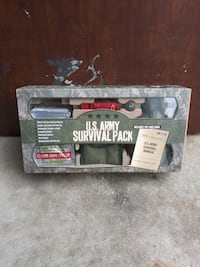 U.S. Army survival pack (does not have manual)