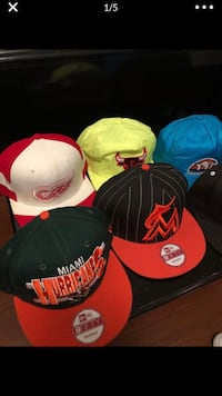 Assorted hats 9 total - $80 OBO Miami, 33128