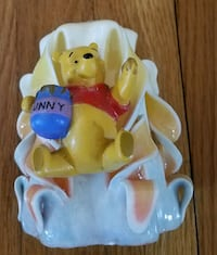 """Winnie The Pooh Candle 5""""H Only Used Once.  Stoughton, 02072"""